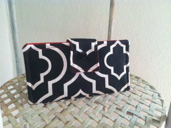 """The """"Laurie"""" - for my momma (but you can have one too). Sophisticated, high-quality handmade wallet"""