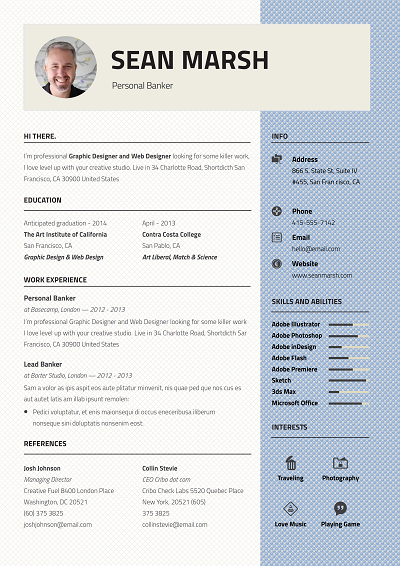 Georgian Resume Templates Current Job Resume