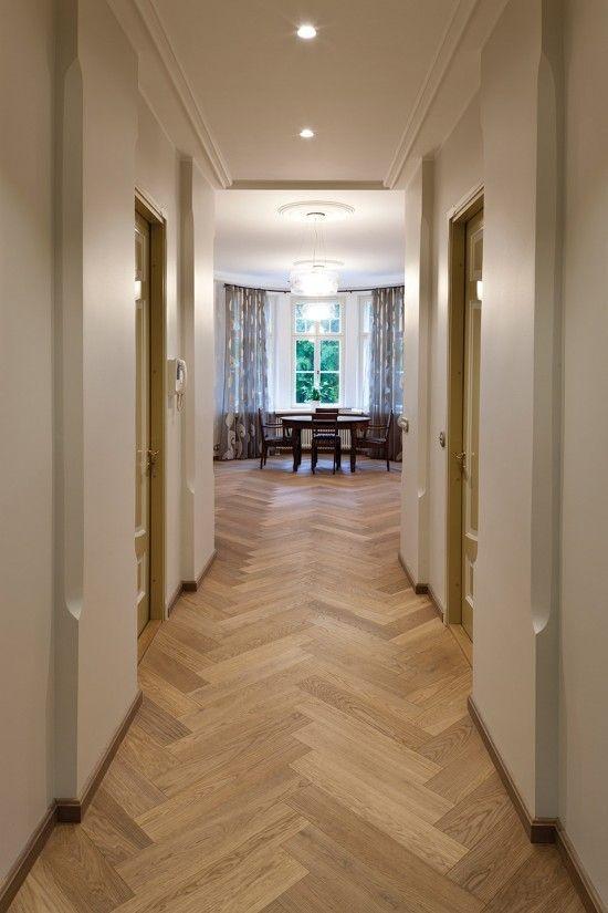 Flamand Engineered Herringbone Parquet Flooring Hardwood Flooring