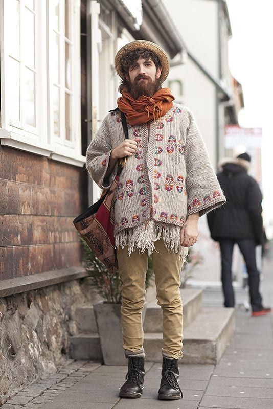 20 Artsy Men's Bohemian Styles for Your Extraordinary Look #manoutfit