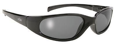 Pacific Coast Ladies Chix Heavenly Flame Smoke Lens Wraparound Sunglasses