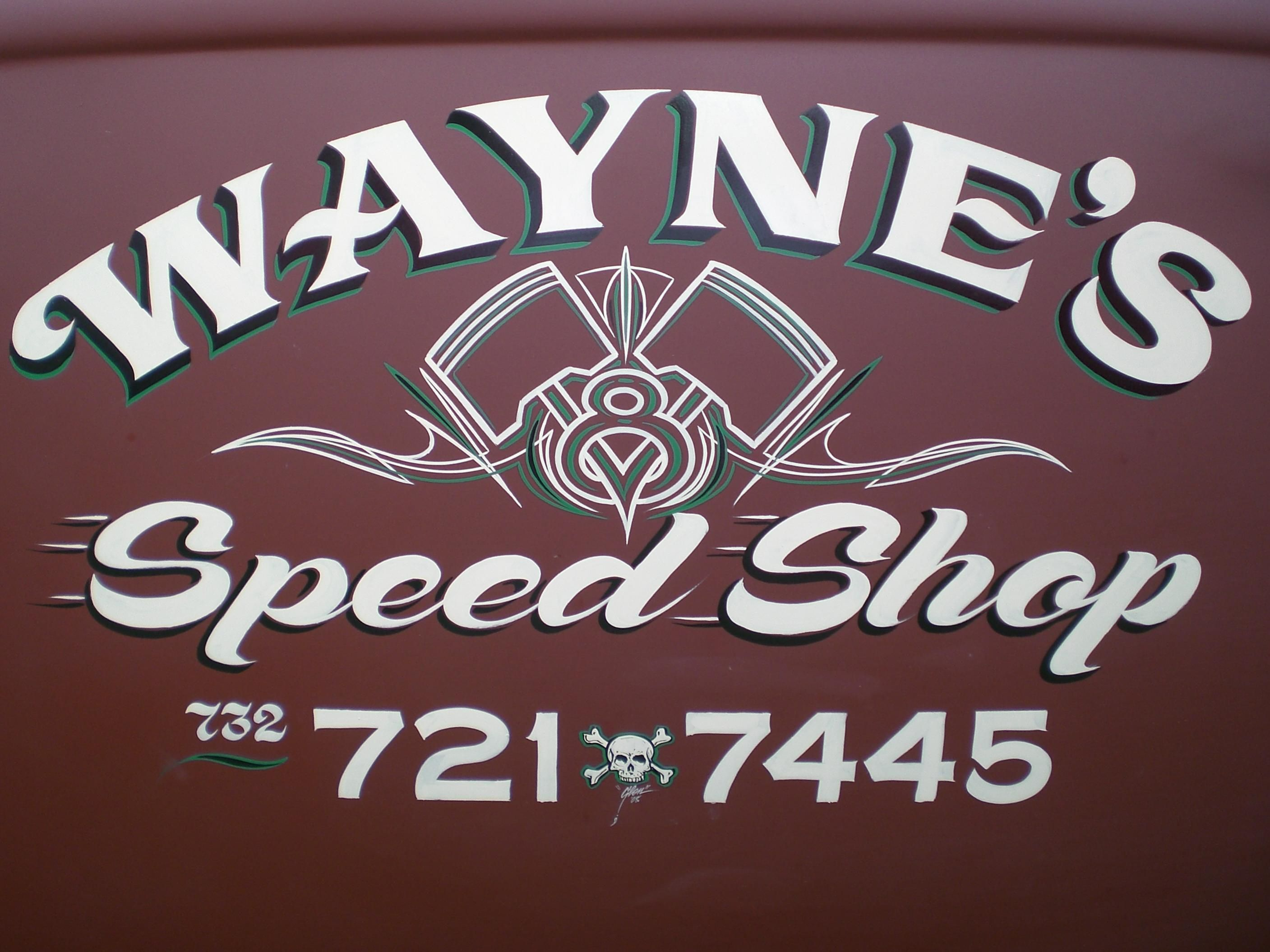 Love the subtle speed lines. Sign writing, Truck