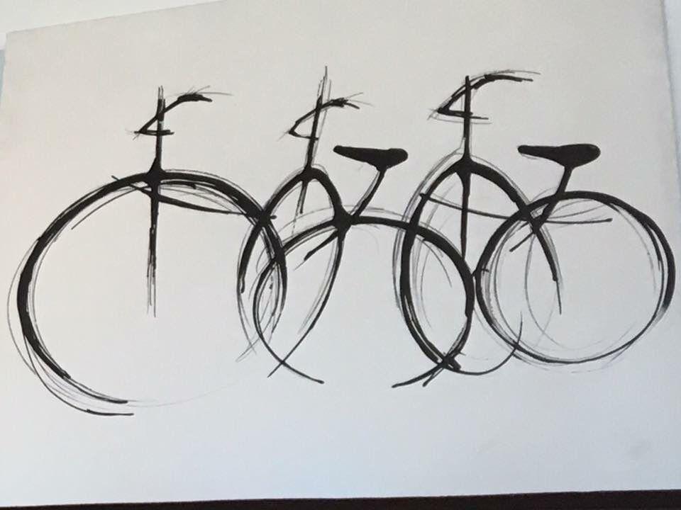 bikes deconstructed bike art pinterest fahrrad kunst fahrr der und radfahren tattoo. Black Bedroom Furniture Sets. Home Design Ideas