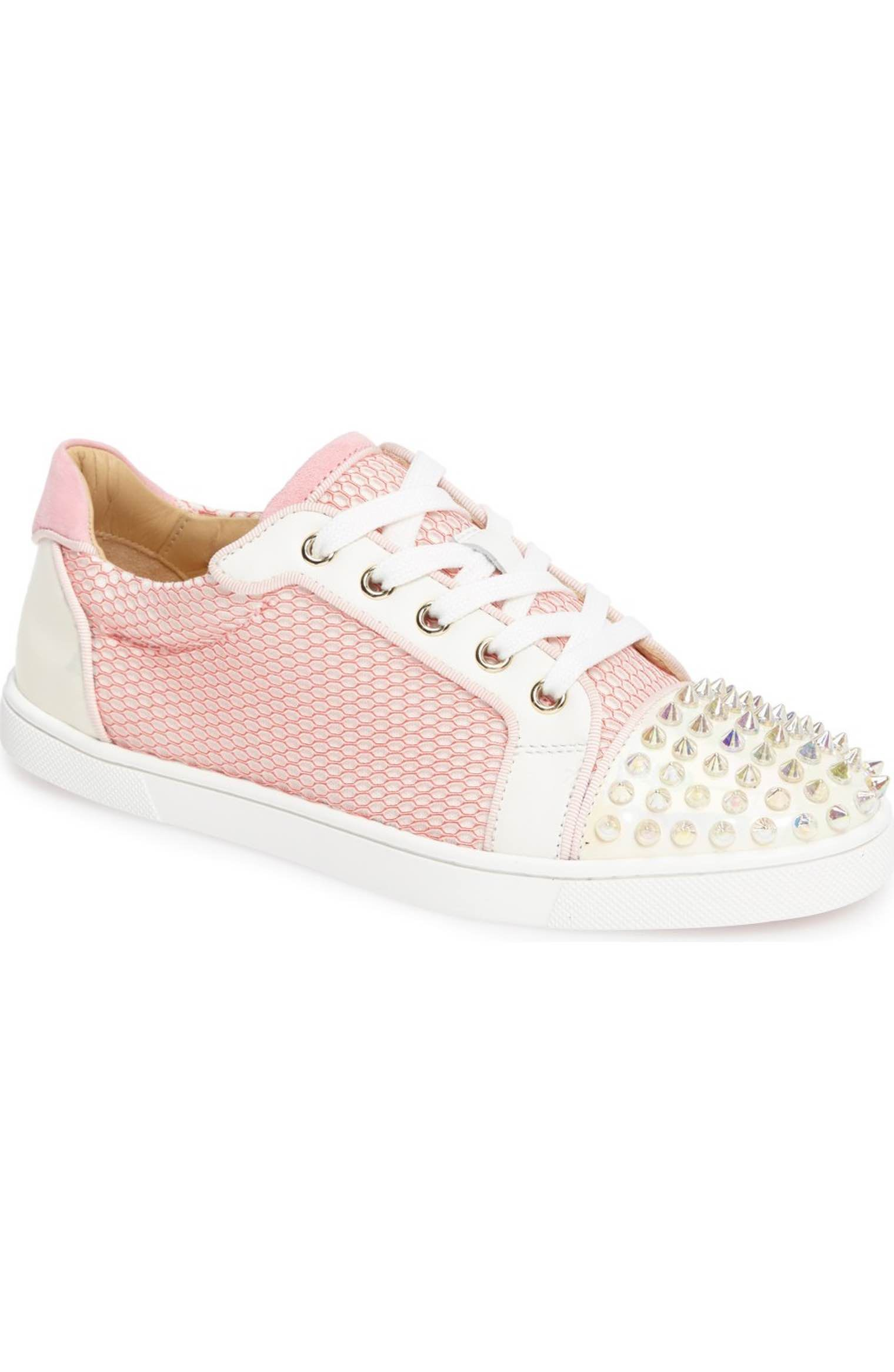 louboutin sneakers rosa