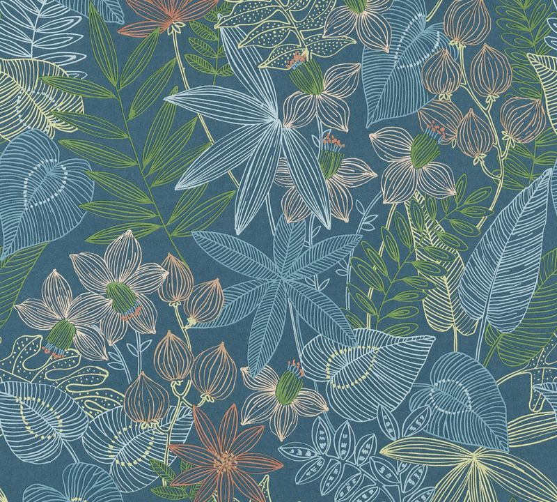 Living Walls Behang.Living Walls Colibri 36630 1 Botanisch Behang Behang