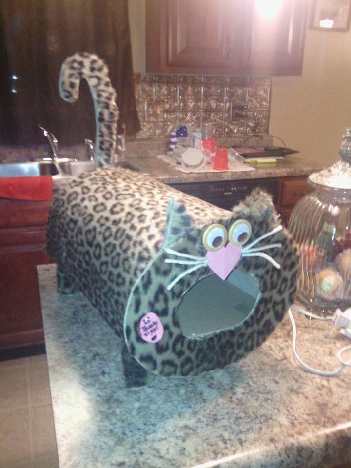 kitty cat valentines box - Cat Valentine Box