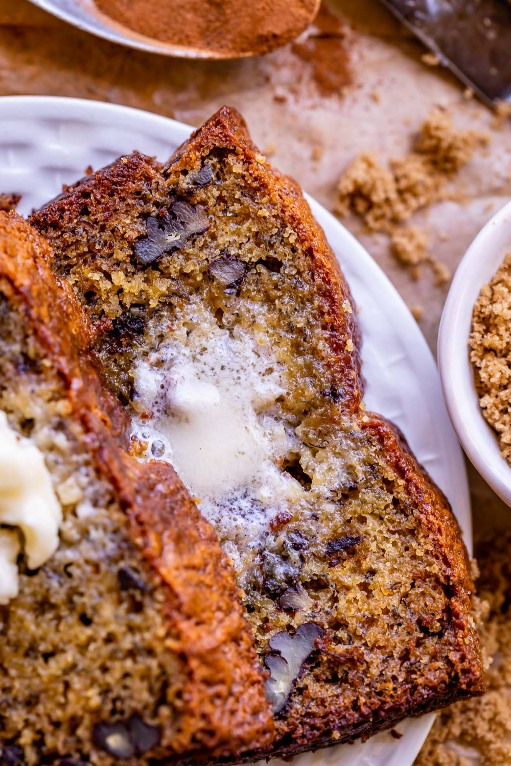 Moist Banana Bread With Sour Cream From The Food Charlatan The Moist Banana Bread In 2020 Moist Banana Bread Banana Bread Recipe Easy Moist Banana Bread Recipe Moist