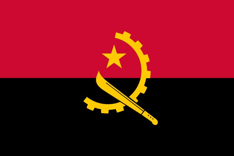 Angola Angola Flag Flag Angola