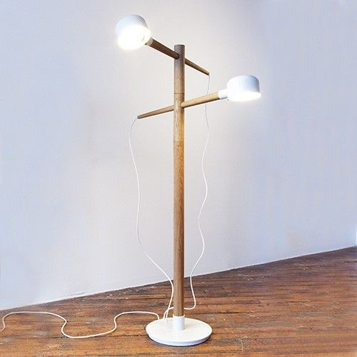 Deadstock Floor Lamp Modern Contemporary Floor Lamp Floor Lamp Wooden Floor Lamps