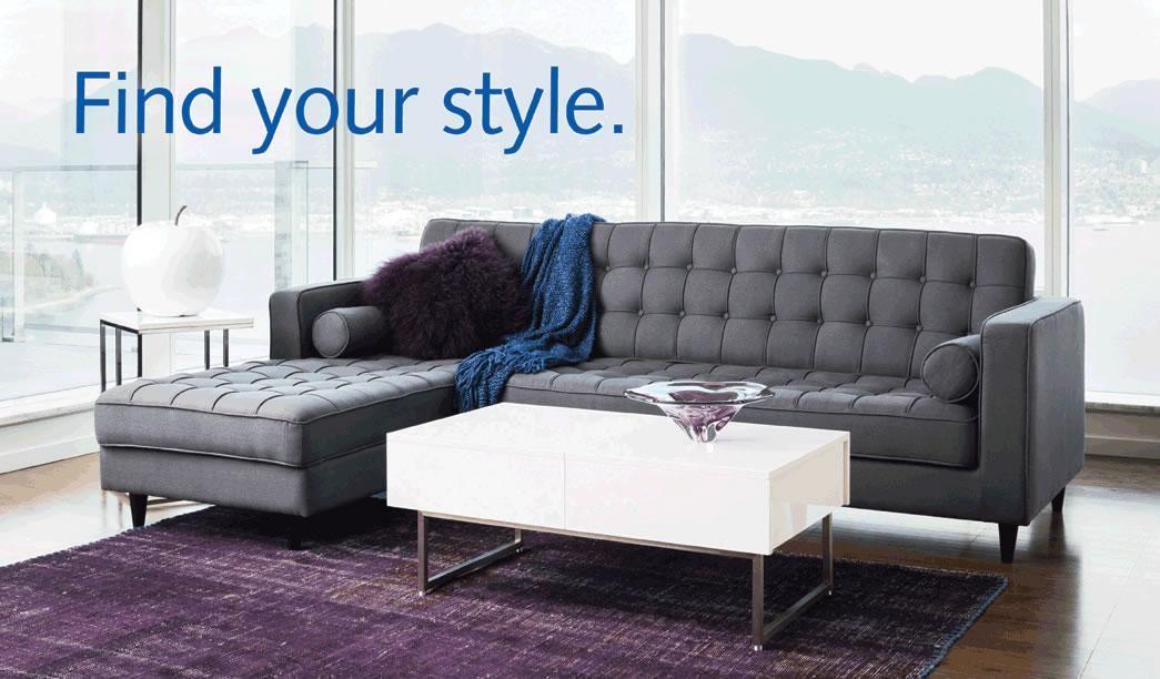 Flip flop sofa bed Moes 1728 Glen Drive Vancouver BC 999
