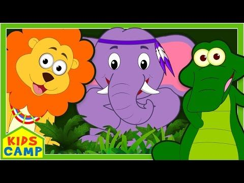 The Jungle Song Jungle Animals Song Animals Song For Children Original Song By Kidscamp Preschool Themes Nursery Rhymes Kids Songs