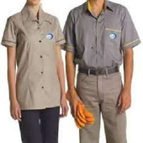 f92ce47ca80 Uniformes profissionais para Comércio | Camisa polo com logo da ...