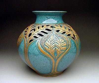 Coil Pottery Vase