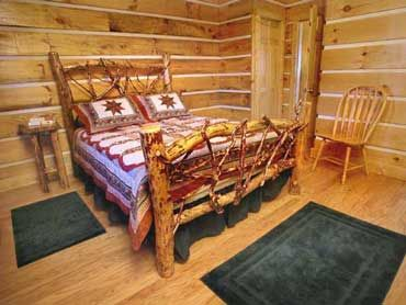 Private Cozy Romantic NC Mountain View Log Cabin For Rent