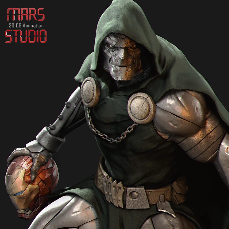 Artstation Dr Doom Mars Doctor Doom Marvel Marvel Comic Character Comic Villains