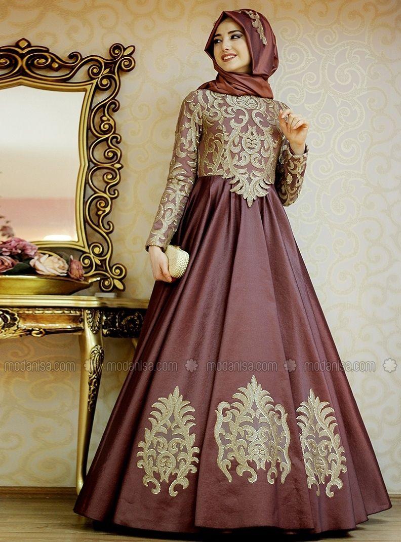 b0e995291dd69 Zühre Abiye Elbise - Mürdüm - Gamze Özkul | nişan | Kıyafet, Moda, Şal