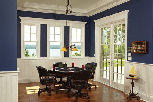 Lakeview Dining Room Captivating Arts And Crafts Trim Window With One Continuous  Dining Room Decorating Inspiration