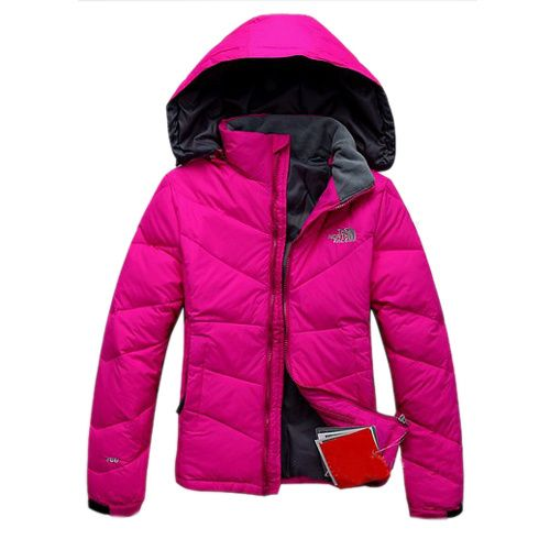 The North Face Down Jackets Metropolis Purple