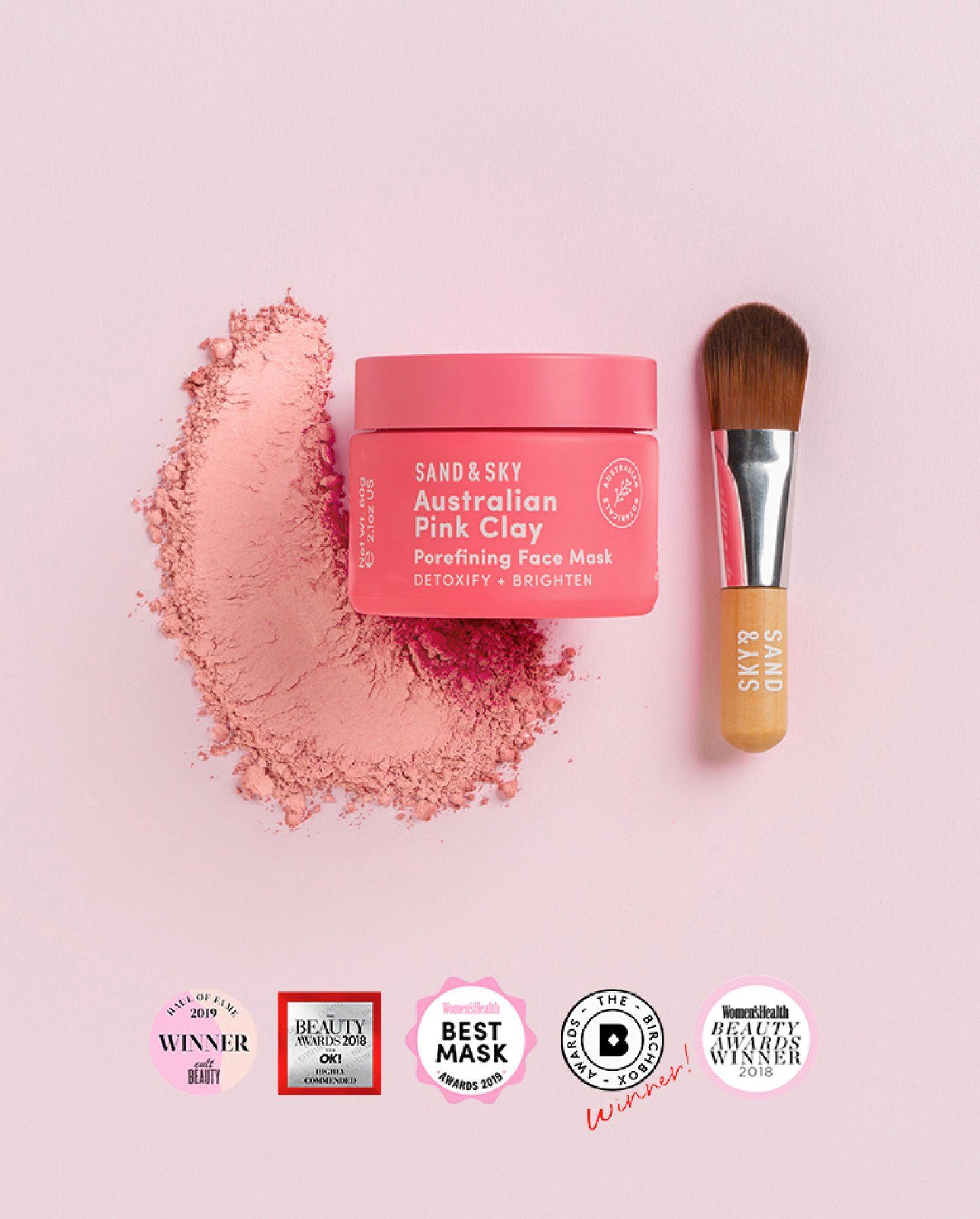 Australian Pink Clay Porefining Face Mask (With images