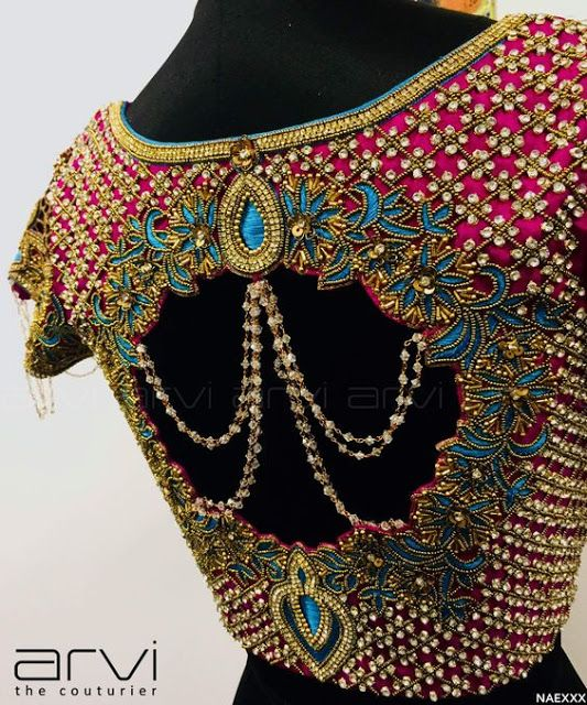 Photo of 15 Unique Blouse Designs For Wedding Saree | Candy Crow- Top Indian Beauty and L…