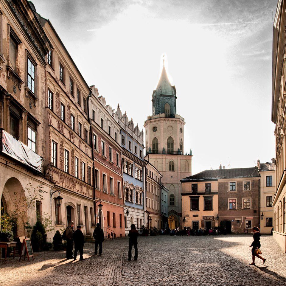 Visit Krakow Poland: The Cracow Gate In Lublin, Poland