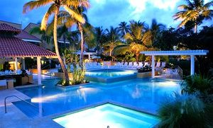 Groupon - Stay at Wyndham Garden at Palmas del Mar in Puerto Rico. Dates into September. in Puerto Rico. Groupon deal price: $129