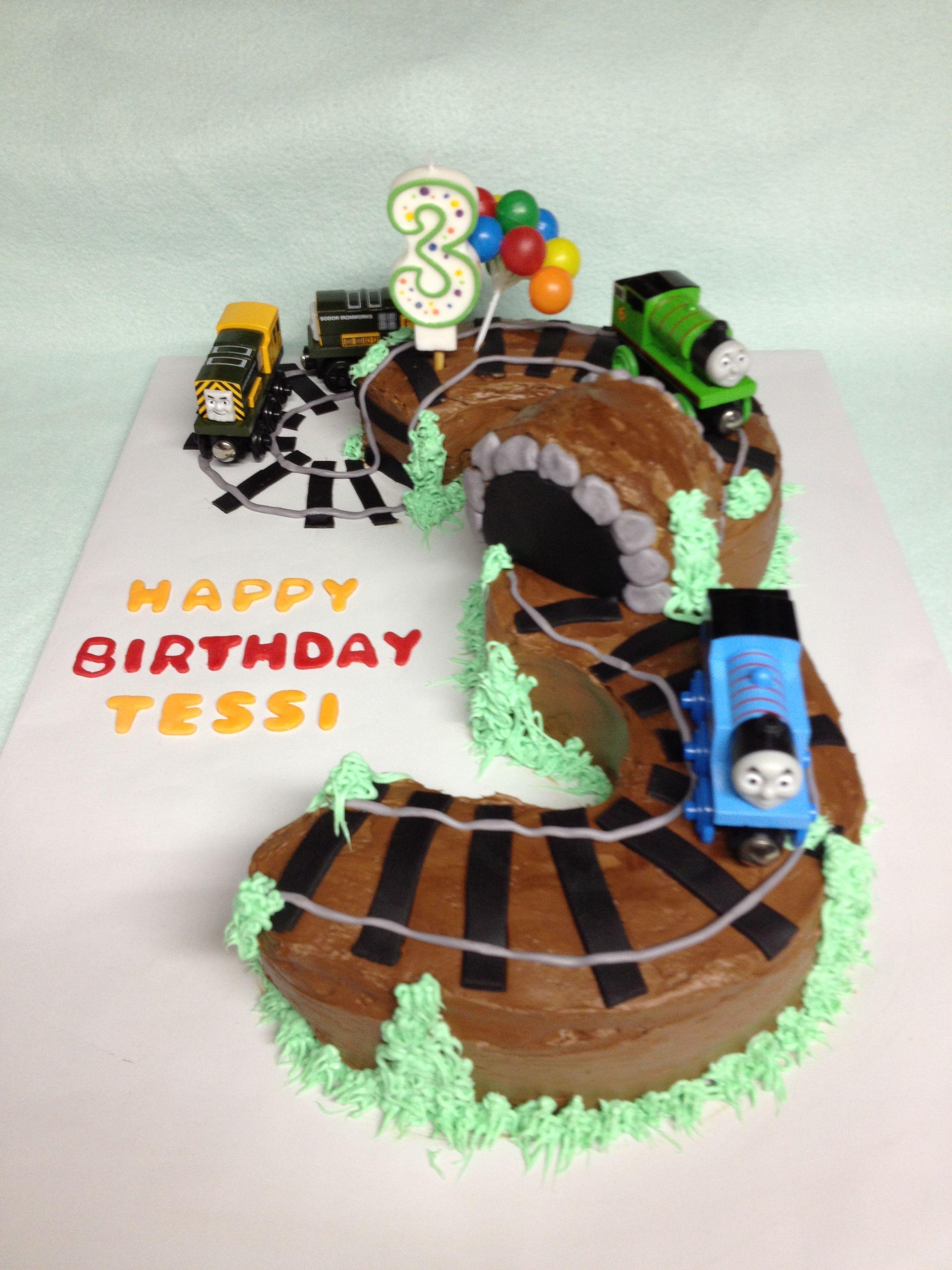 Tessi 3 Yr Old Birthday Cale