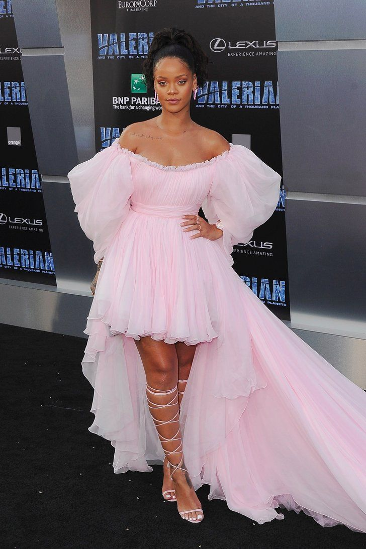 Rihanna Shut Down the Red Carpet in This Millennial Pink ...