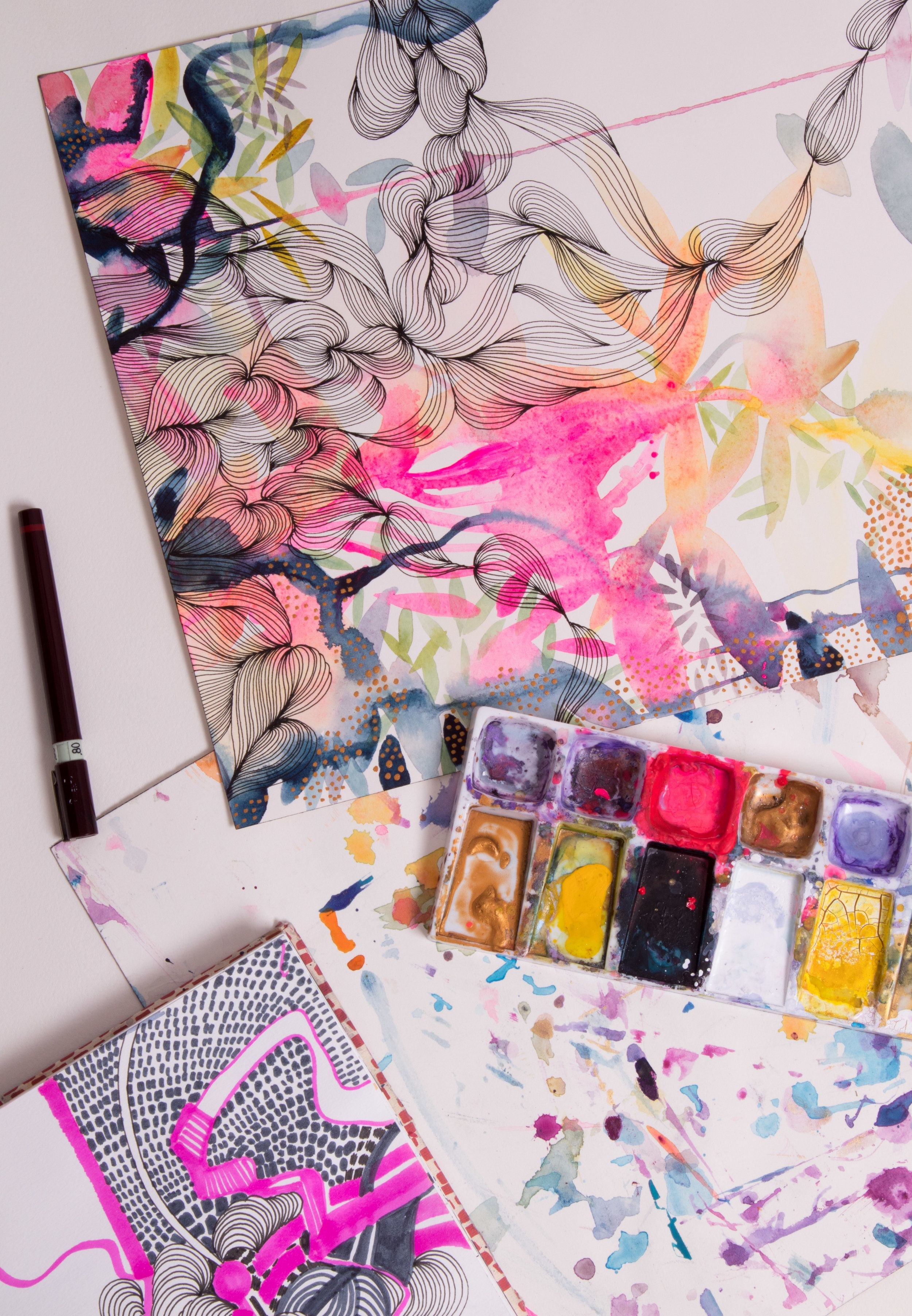 Pin By Lady Heather On Art Education Watercolor Art Painting