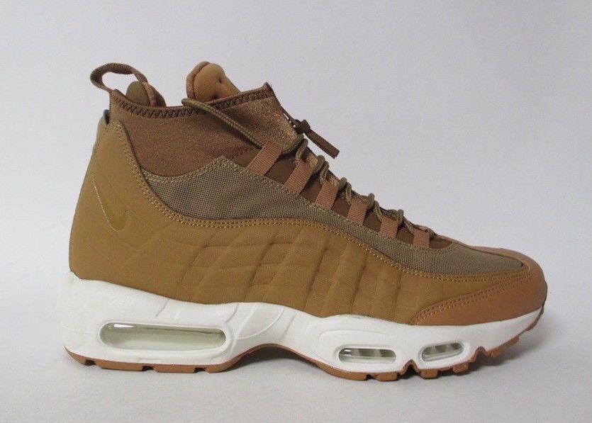 nike air max sneakerboot wheat