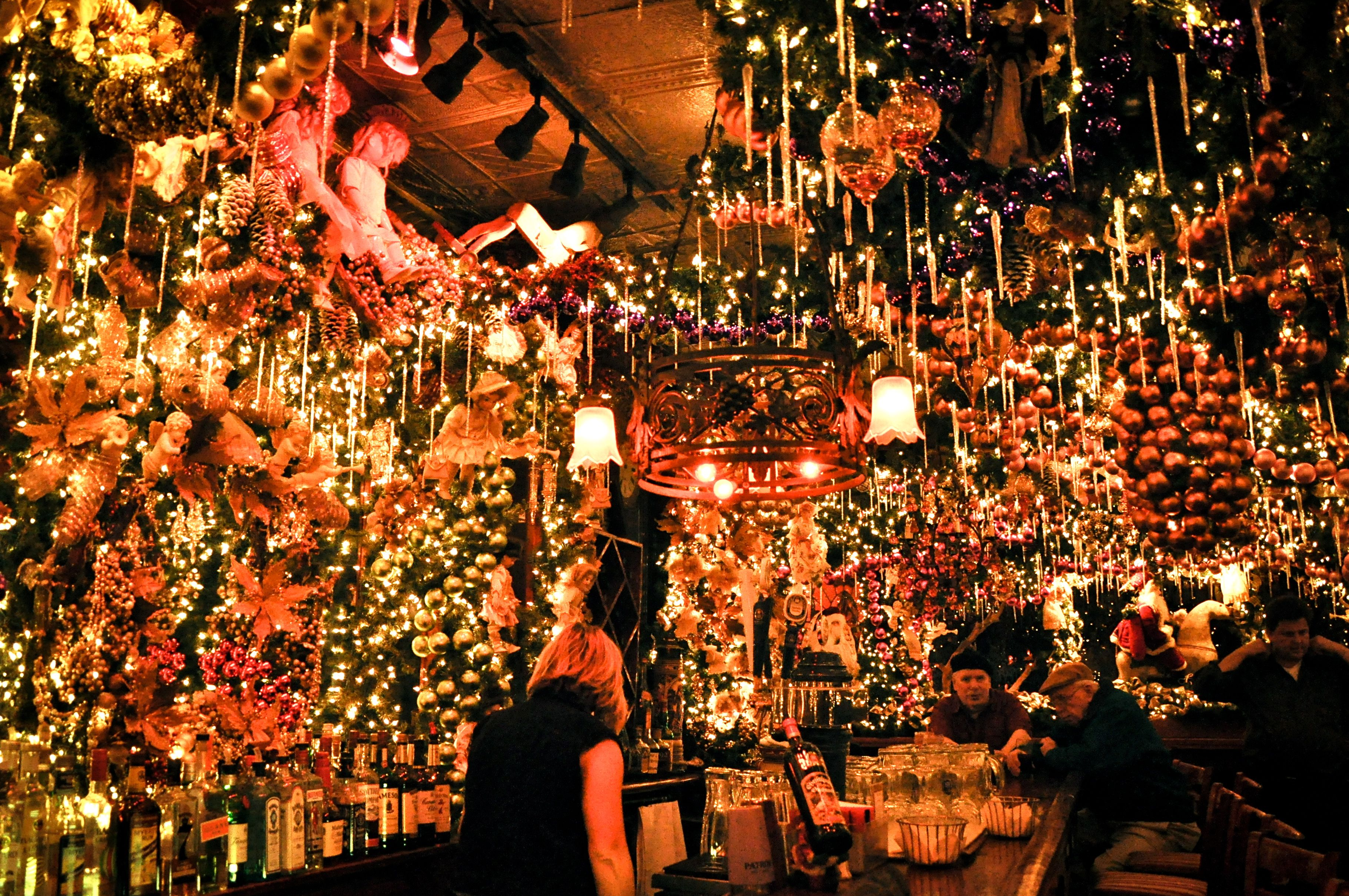 Rolf's German Restaurant in NYC | Nyc christmas, Christmas ...