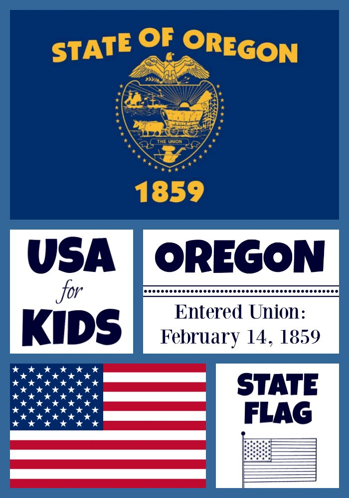 State Flag Coloring Pages By Flag Coloring Pages Oregon State