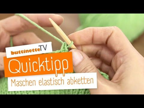 Photo of Quicktipp-Stiche elastisch ablegen