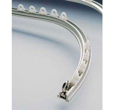 Silent Gliss 1012 Aluminium Track 15 20 Curtain Poles