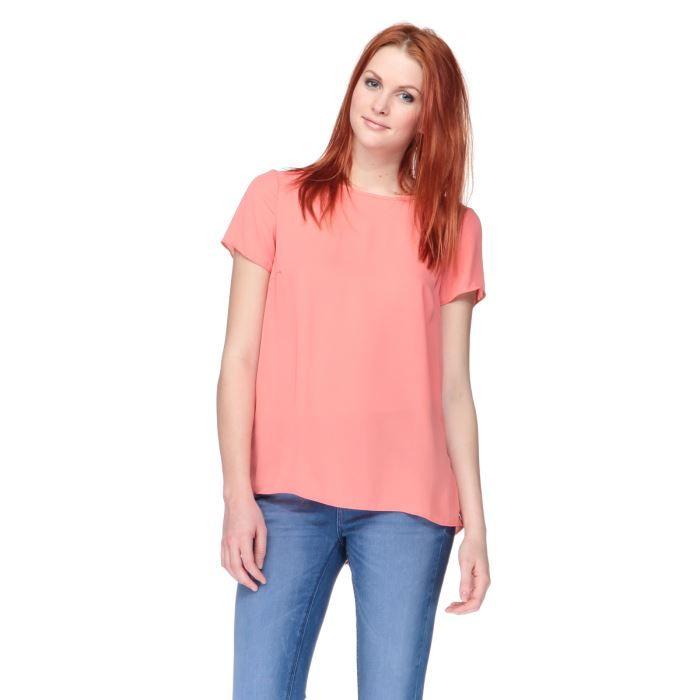 NEW LOOK T-Shirt Rose Femme