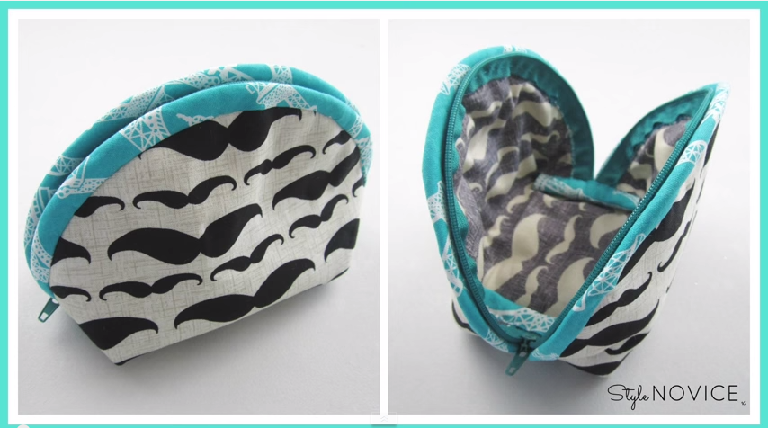 27e8be6989d6 A Similar Cosmetic Bag - PDF Sewing Pattern