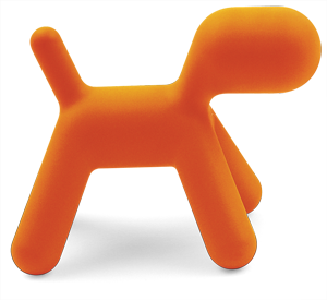 MoMA | Century of the Child | Power Play (1960s-1990s) Puppy, from the Me Too collection by Eero Aarnio c. 2005