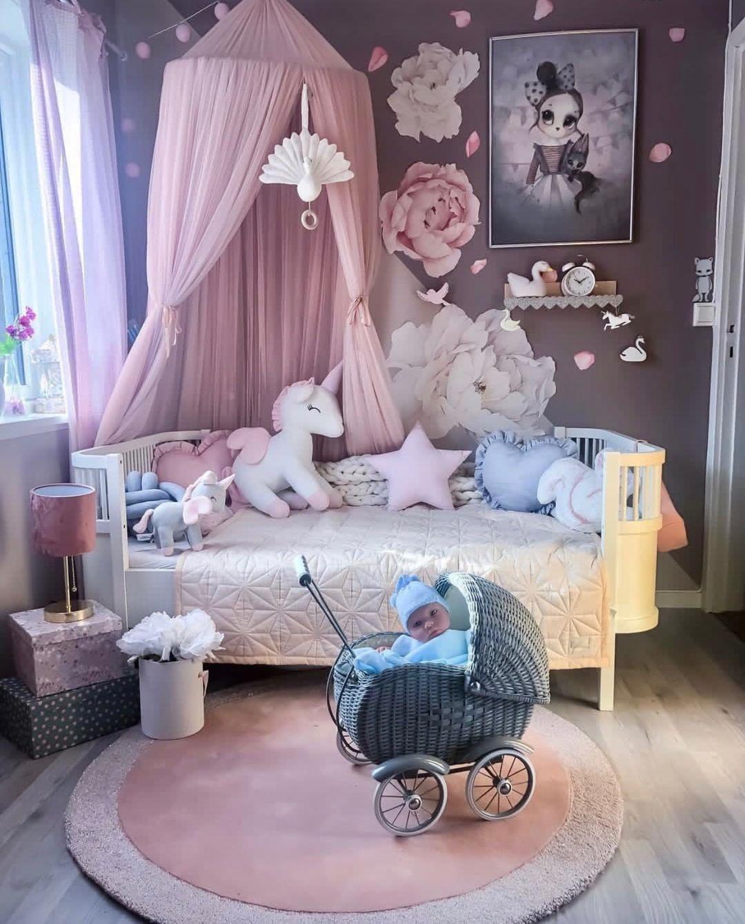 Mädchenträume bei 📷 madelen12 💕 Den Spinkie Baldachin, das Bett ...
