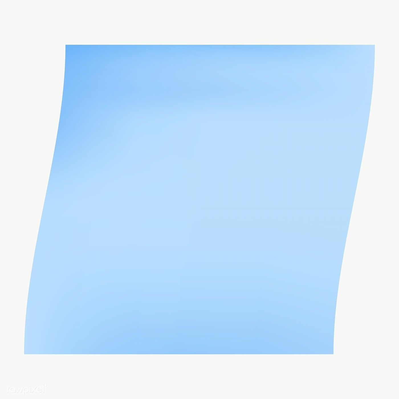 Blue Square Paper Note Social Ads Template Transparent Png Free Image By Rawpixel Com Manotang