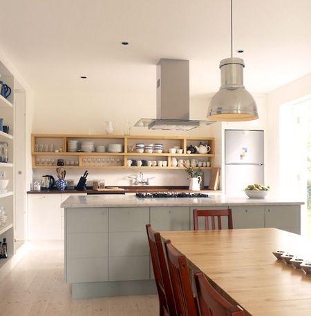 Open Shelving Uppers Modern Kitchen Shelves Kitchen Decor