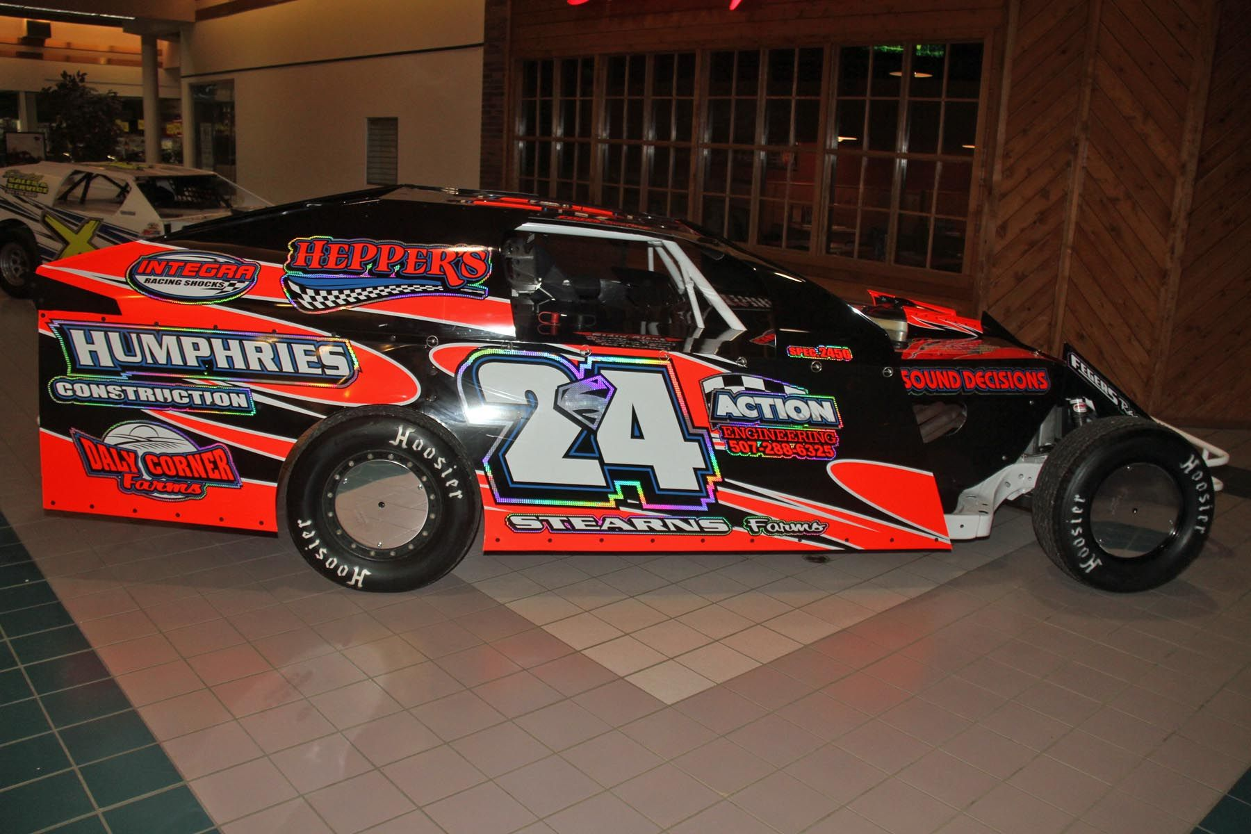 Street Stock Dirt Track Race Car Wraps - Year of Clean Water