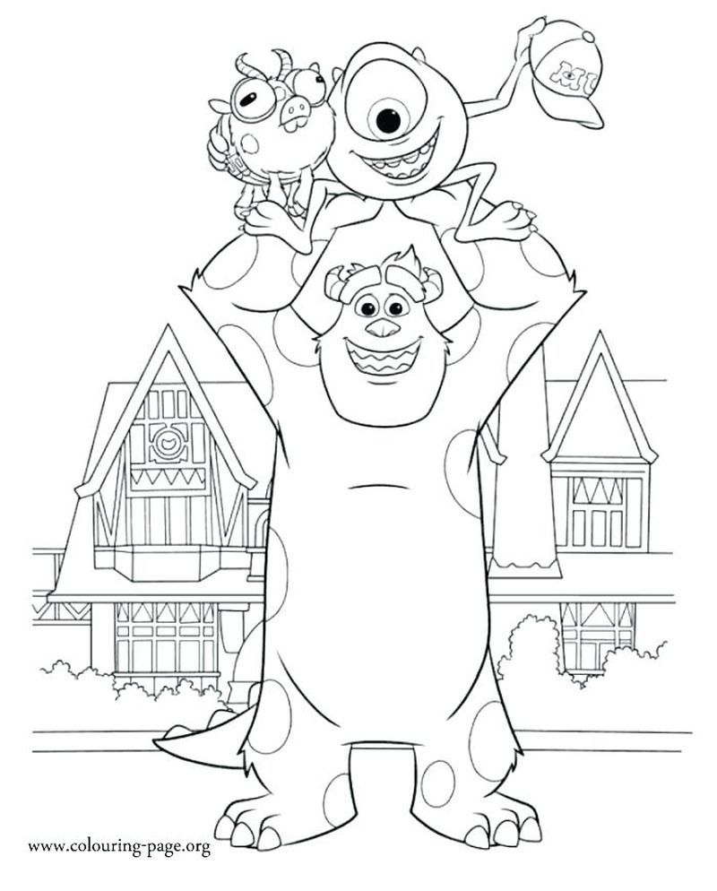 Monsters Inc Coloring Pages Best Coloring Pages For Kids In 2021 Disney Coloring Pages Cartoon Coloring Pages Monster Coloring Pages