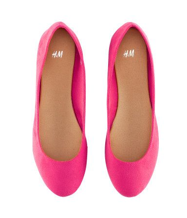 c8fb4f6858d04 Love love love me some ballet flats! Especially adorable pink ones ...