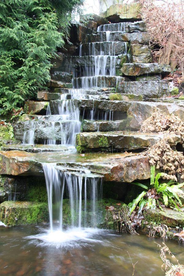garten wasserfall | garten | pinterest | garten-wasserfall, Garten und bauen