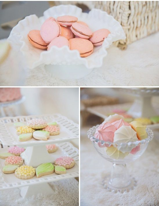 Pastel Baby Shower By Nicki From Cute Co And Vitalic Photo Via