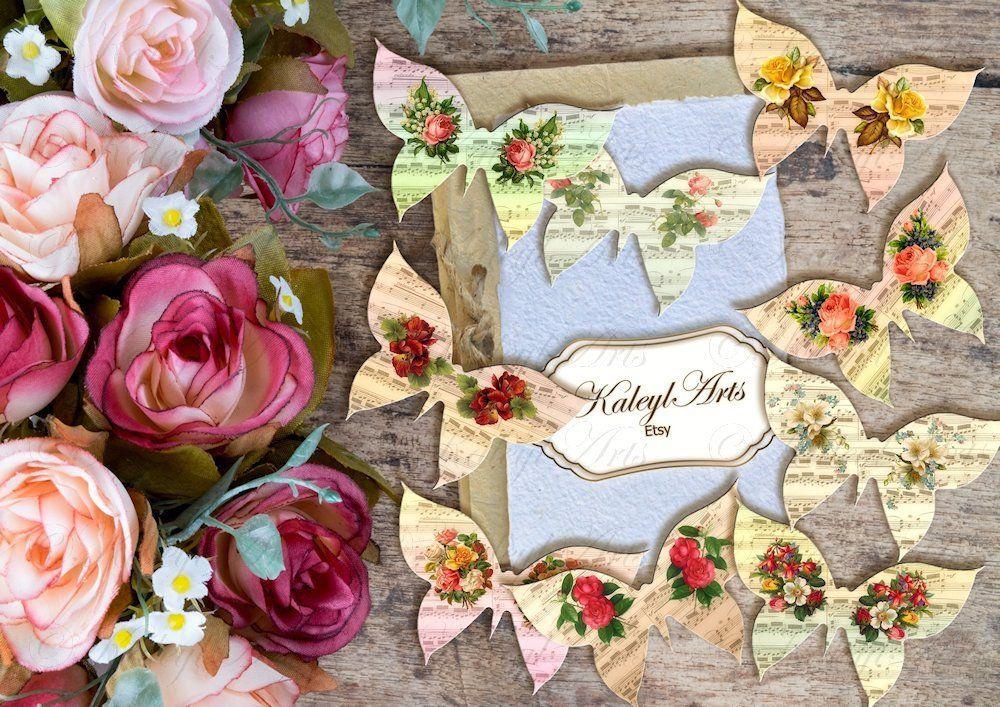 Schmetterling,Kartenherstellung, vintage, shabby chic , scrapbook ...