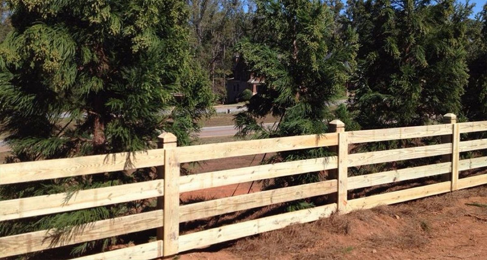 rail fence | outdoors ~fencing | Pinterest | Farm fencing, Wire ...