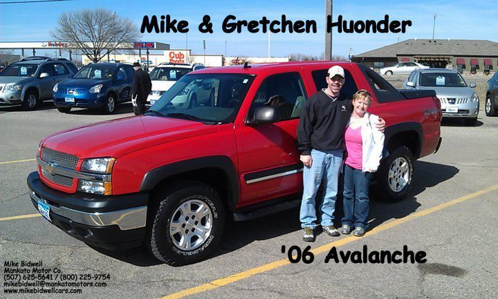 Mike Bidwell Mankato Motors Thanks To Mike Gretchen For