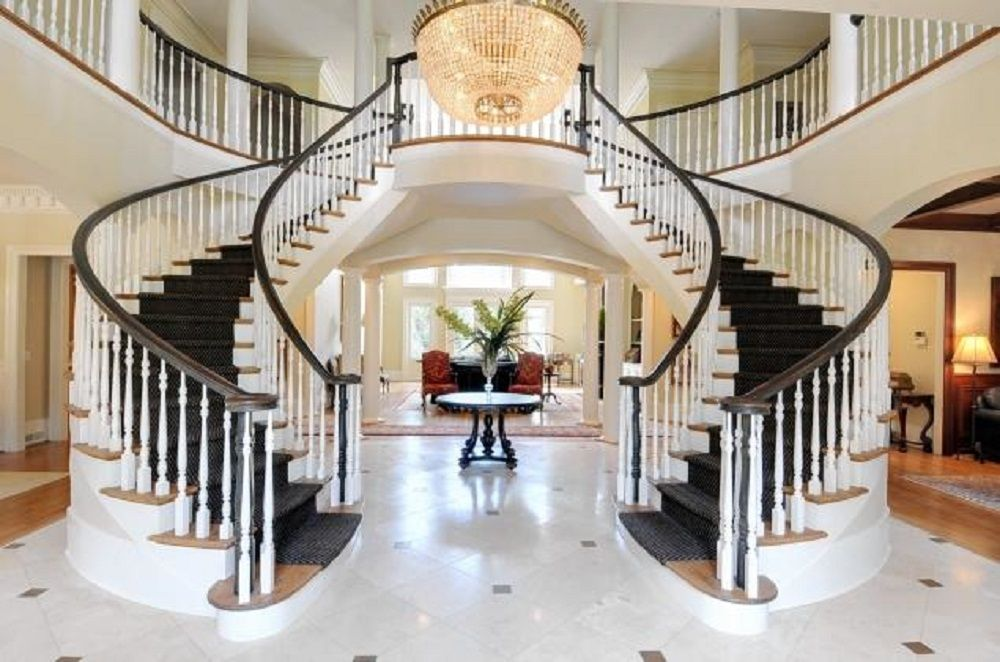 Best Double Staircase Homes Google Search Staircase Design 400 x 300