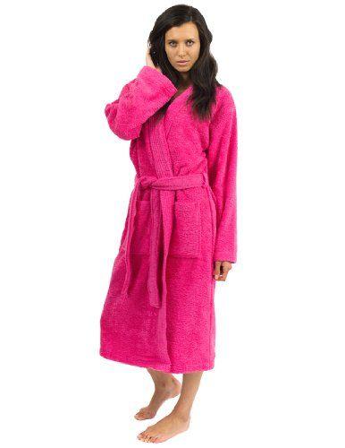 Terry Cloth Bathrobes For Women